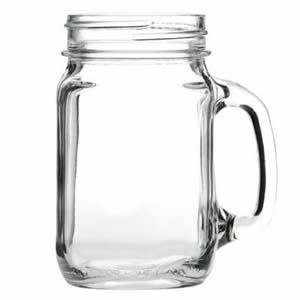 488ml Drinking Jar With Handle