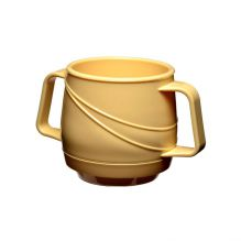 Modern Beverage Mug Double Handle - Yellow