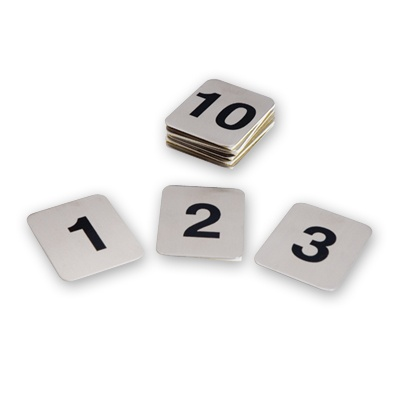 Adhesive Table Numbers