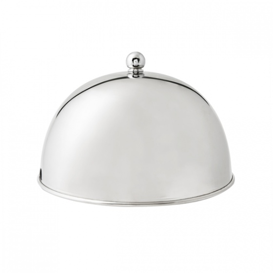Stainless Steel Dome Cover With Knob