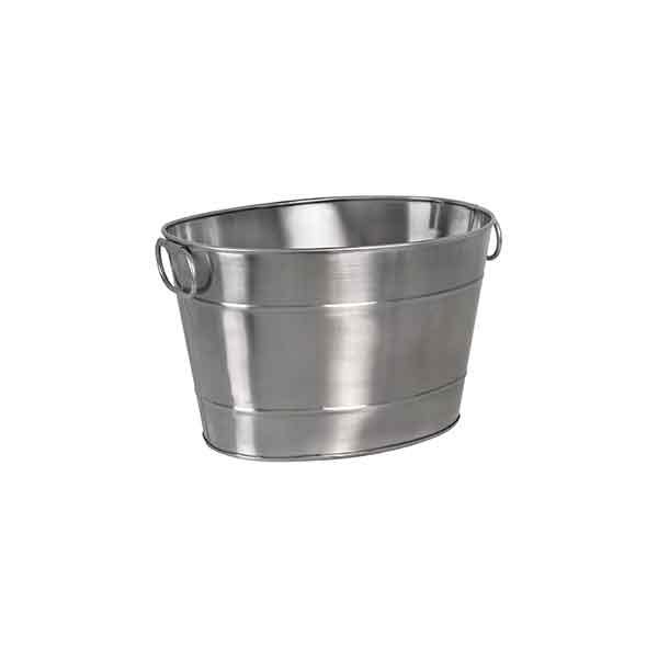 Moda Oval Beverage Tub Satin Finish