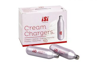 Cream Charger Bulbs Packet of 10