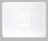 Polycarbonate Solid Clear Food Pan Lid