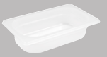 Polypropylene Gastronorm Food Pan 1/3 Size x 65mm