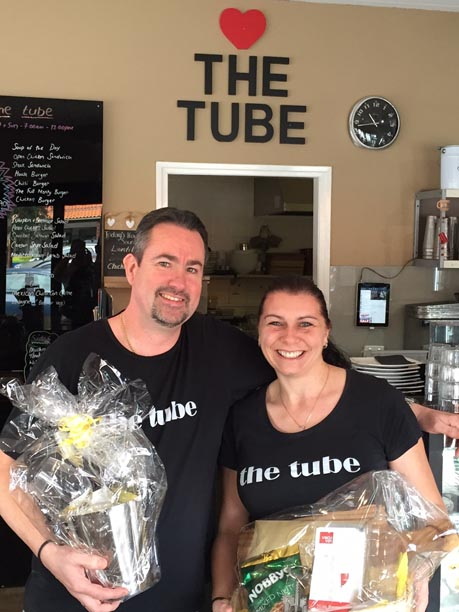 Taldara Competition Winners - The Tube Coffee Station Cottesloe