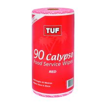 TUF Calypso Food Service Roll Red