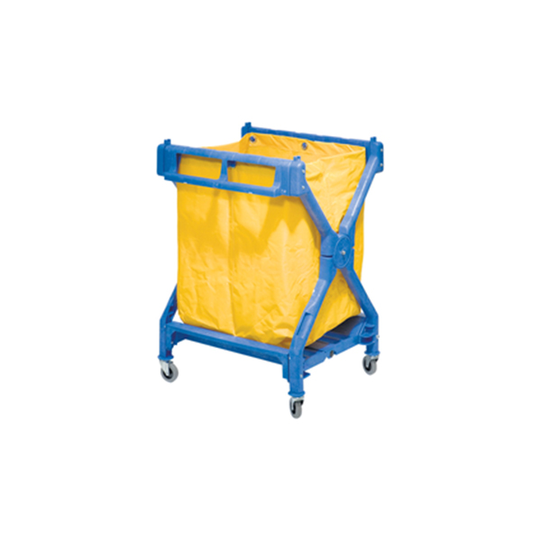 Plastic X Trolley With Bag
