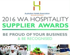2016 WA Hospitality Supplier Awards Voting Open