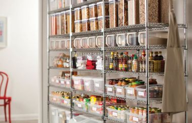 Food Storage, Shelving & Bins