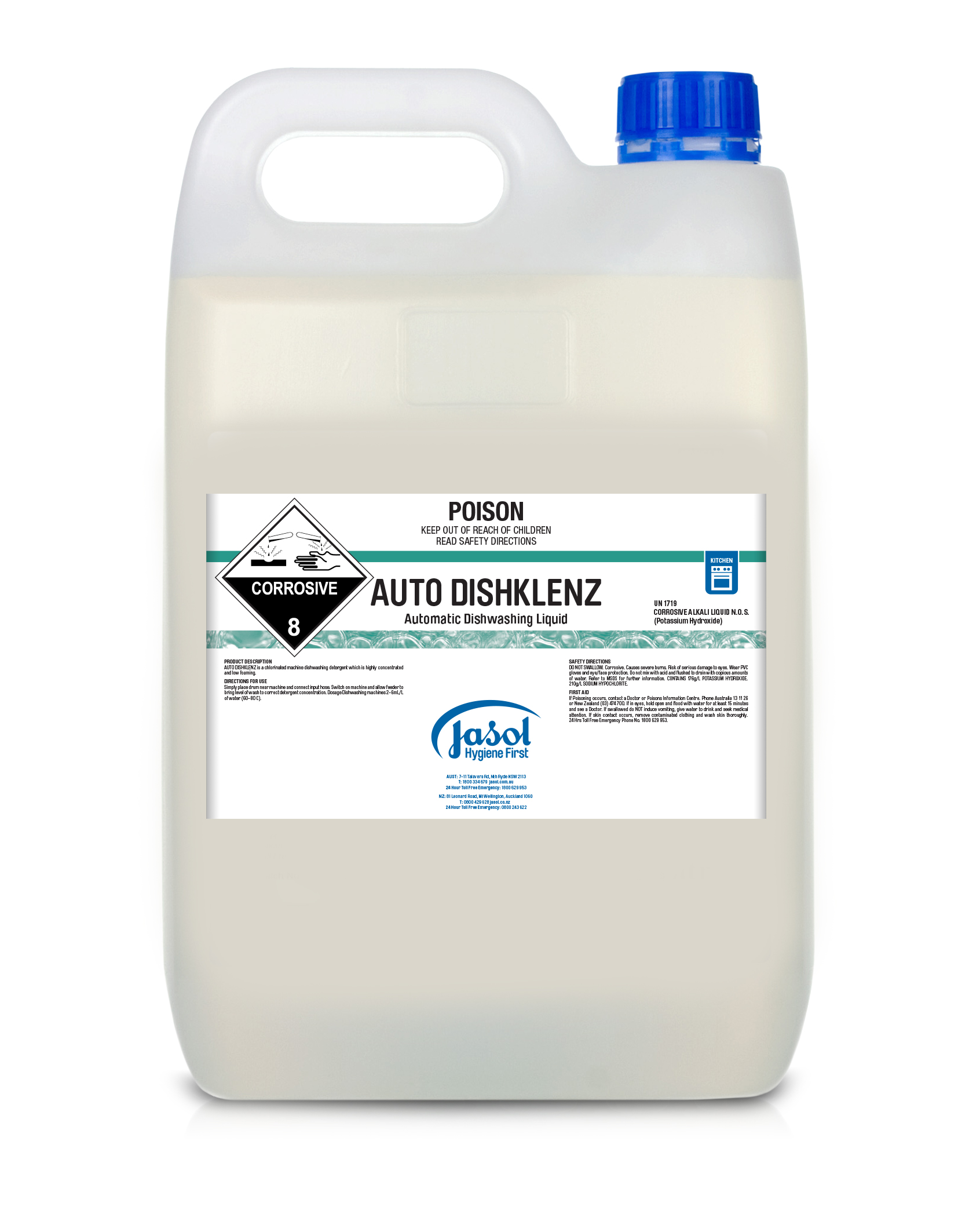 Klenzall ADL Chlorinated Detergent