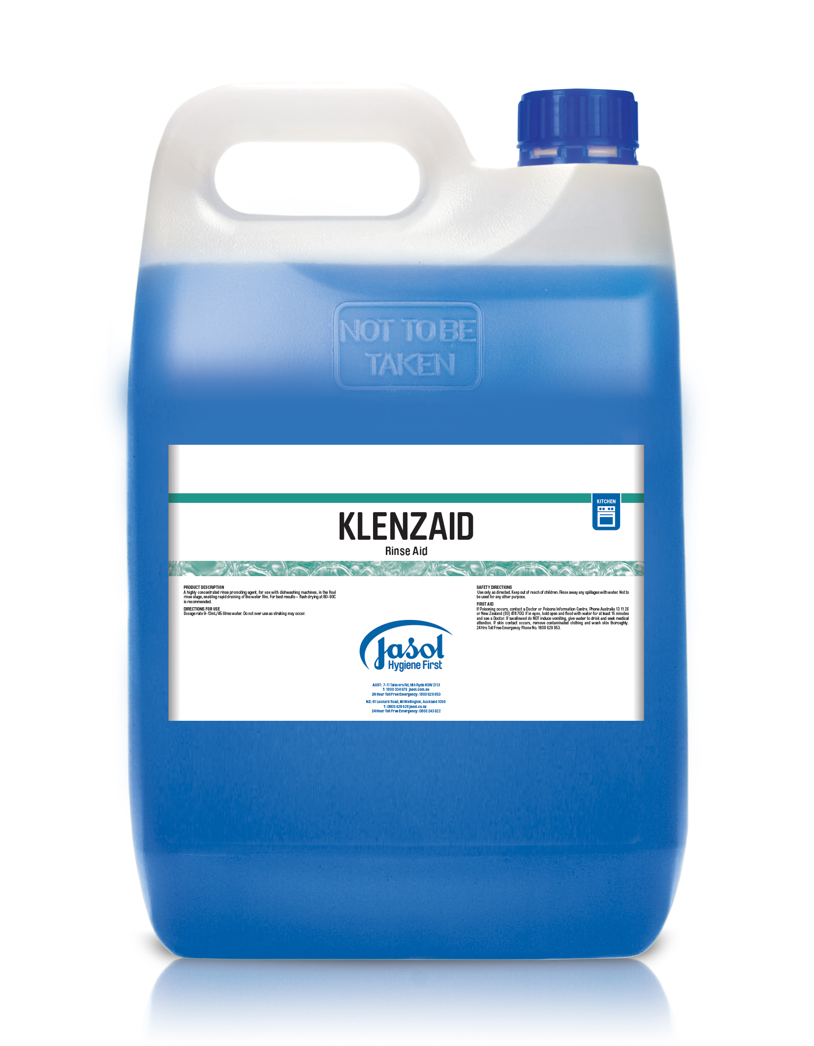 Klenzall Machine Wash Rinse Aid