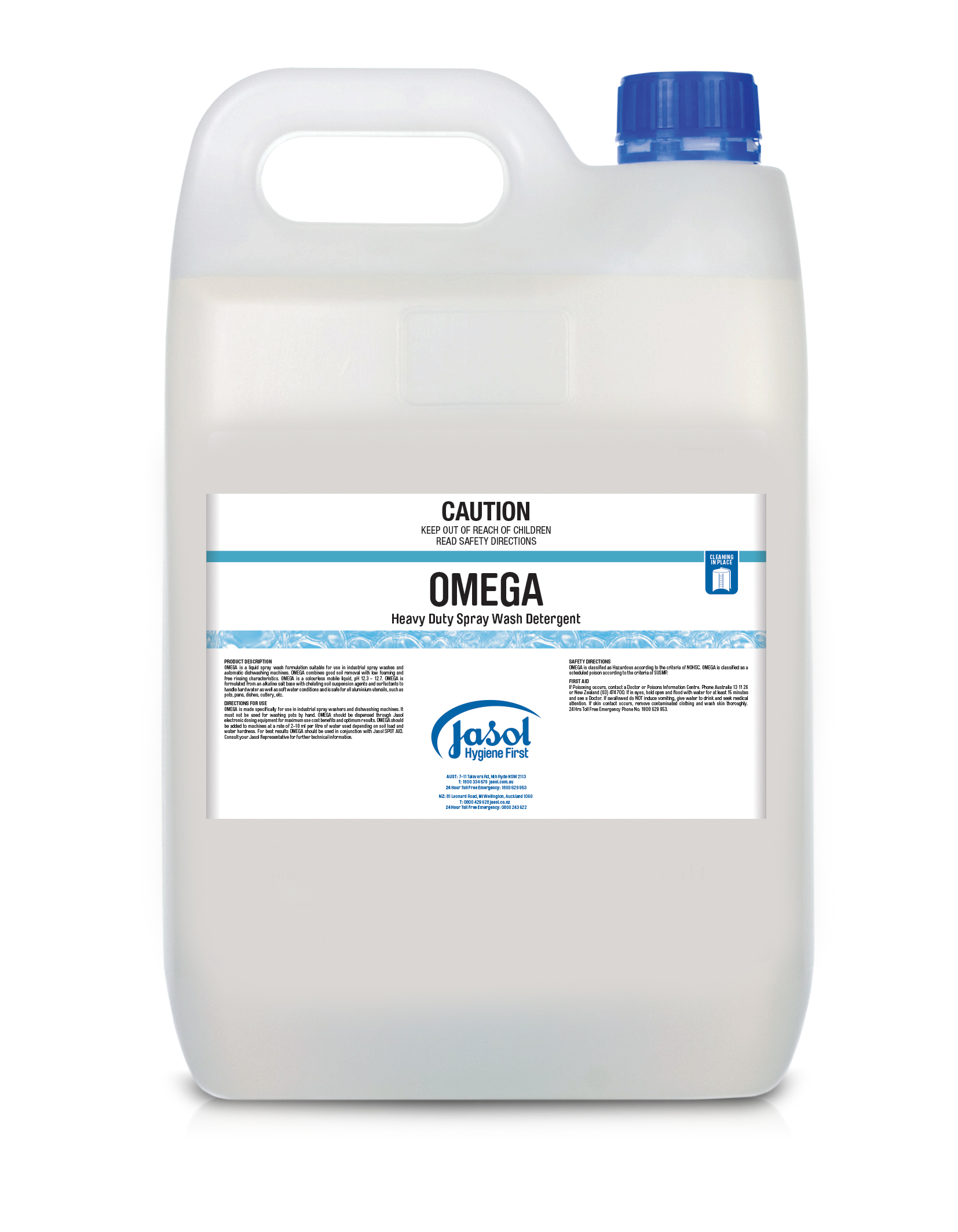 Omega Spray Wash Detergent