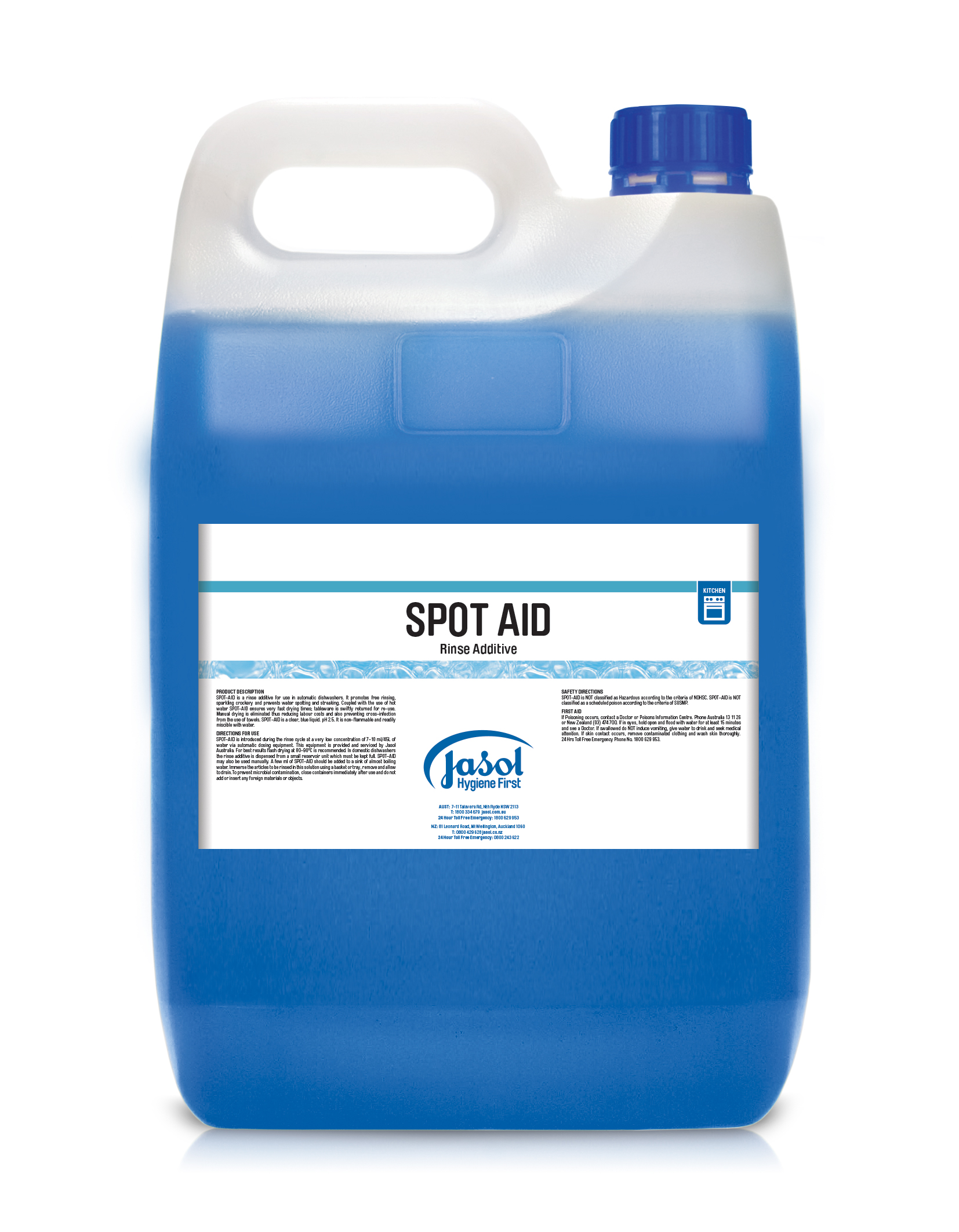Spot-Aid Machine Wash Rinse Aid