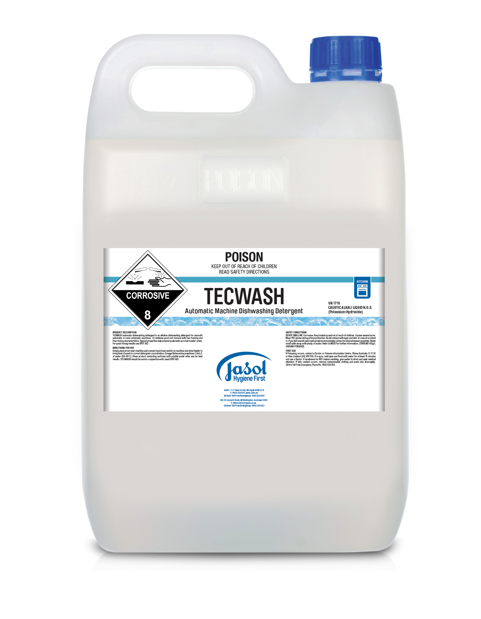 Tecwash Plus Liquid Machine Detergent