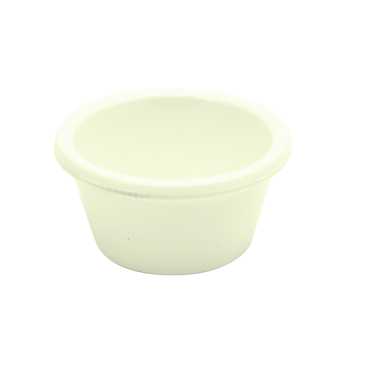 Ryner Plain Bone Melamine Ramekin 60ml