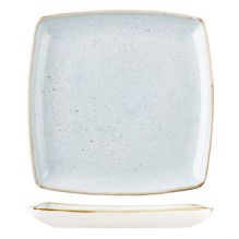 Stonecast Duck Egg Deep Square Plate 268x268mm