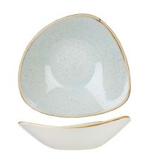 Stonecast Duck Egg Triangular Bowl 153x153mm