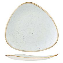 Stonecast Duck Egg Triangular Plate 192x192mm