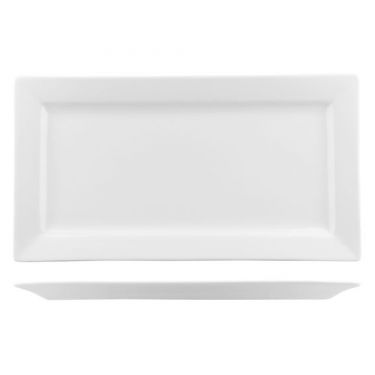 Classicware Rectangular Wide Rim Platter 205mm - Image 1