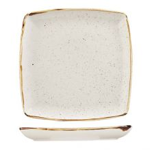 Stonecast Barley White Deep Square Plate 268mm