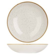 Stonecast Barley White Round Coupe Bowl 182mm