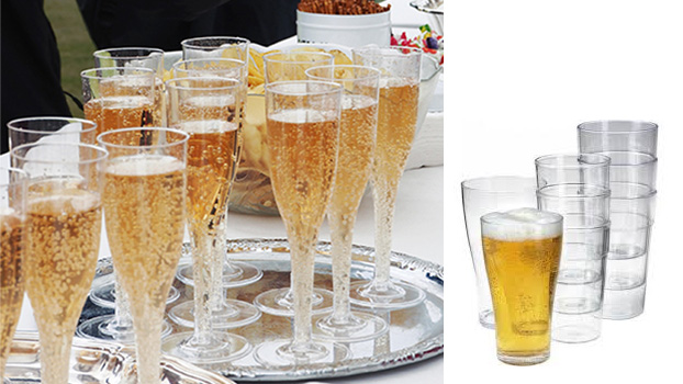 Polycarbonate glasses for Melbourne Cup