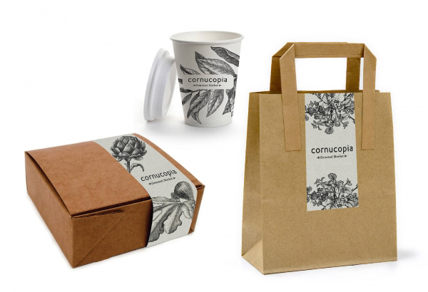 Recycled Paper Food Packaging Inspiration