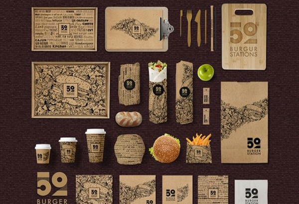 Recycled Paper Packaging Set