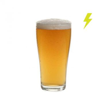 285ml Crowntuff Conical Beer Glass - Image 1