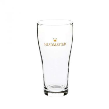 425ml Conical Headmaster Nucleated Beer Glass - Image 1