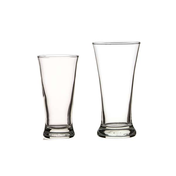 Crown Pilsner Glasses