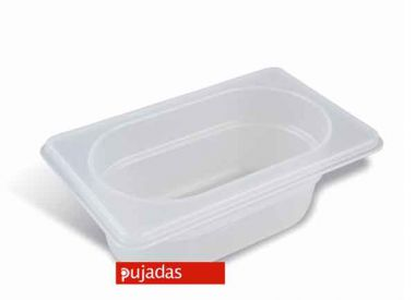Clear Polypropylene GN Food Pans 1/4 Size