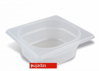 Clear Polypropylene GN Food Pans 1/6 Size