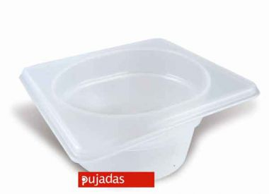 Clear Polypropylene GN Food Pans 1/9 Size