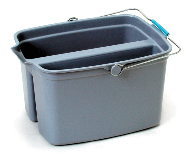 2 X 9Ltr Compartment H/D Bucket