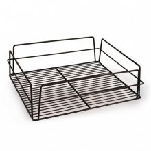 Glass Basket Rectangular High Sided