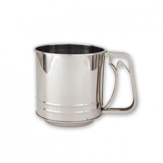 Flour Sifter Stainless Steel 5 Cup