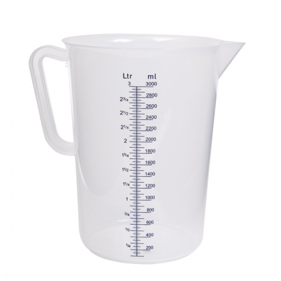 Measuring Jug Pp Graduated 0.5Lt