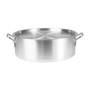 Aluminium Brazier 4mm 24L With Cover