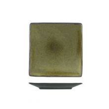 Uniq Green Square Plate 265mm