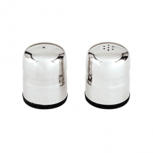 Jumbo Salt & Pepper Shaker 18/8 Stainless Steel Set