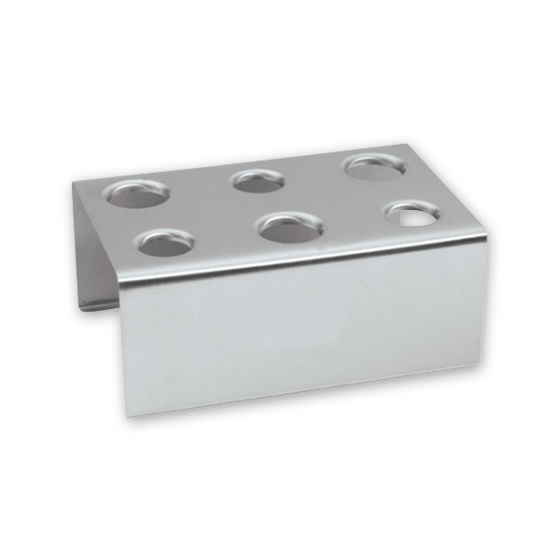 Stainless Steel Ice Cream Cone Holder 3X2 Holes