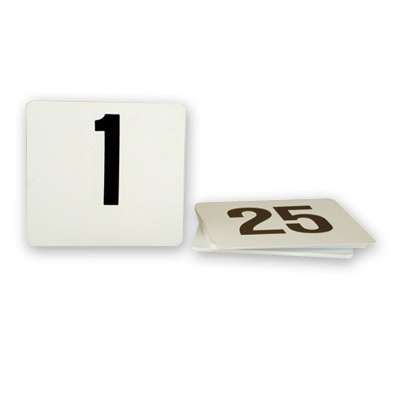 Plastic Table number Sets