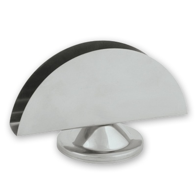Stainless Steel Half Moon Napkin Holder