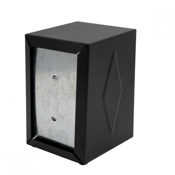 Blk Napkin Dispenser 130 x 95 x 115mm