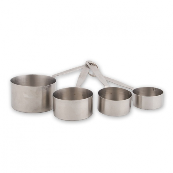 Deluxe Mearuring Set Stainless Steel 4 Pc 60 -250ml