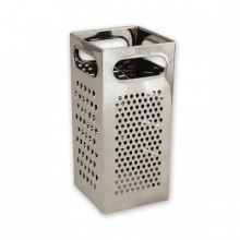 Grater-Stainless Steel,4 Sided (Square)