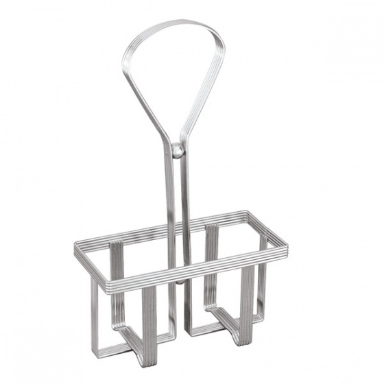 Chrome Wire Rack For Oil & Vinegar Bottles