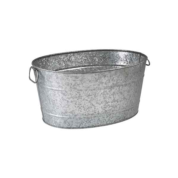 Moda Oval Beverage Tub Galvanised
