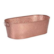 Moda Oval Beverage Tub Copper Satin Vine